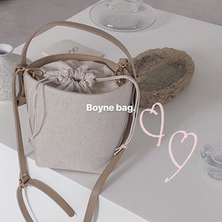 BOYNE BAG . -OPEN! 주문폭주 !