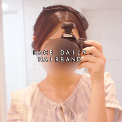 lace daily hairband
